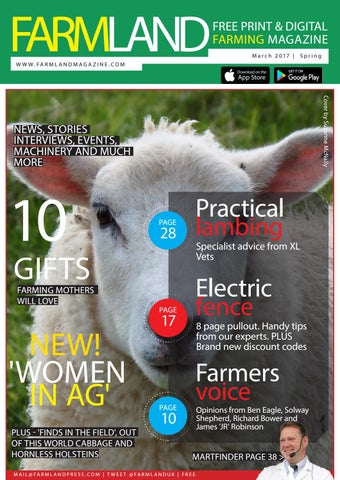 VOSS.farming Electric Fence Kit for Goats; Including a 230 Volt Mains Energiser