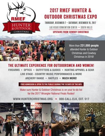 2017 rmef hunter outdoor christmas expo thursday december 7 saturday december 16 2017 las vegas convention center south halls t
