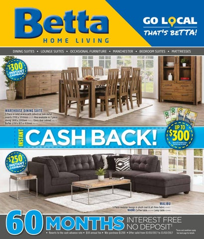 Betta Home Living March 2017 Furniture Catalogue Instant Cashback