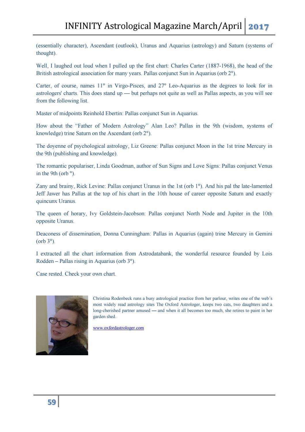 Infinity astrological magazine (i#12 by I A M  - Infinity