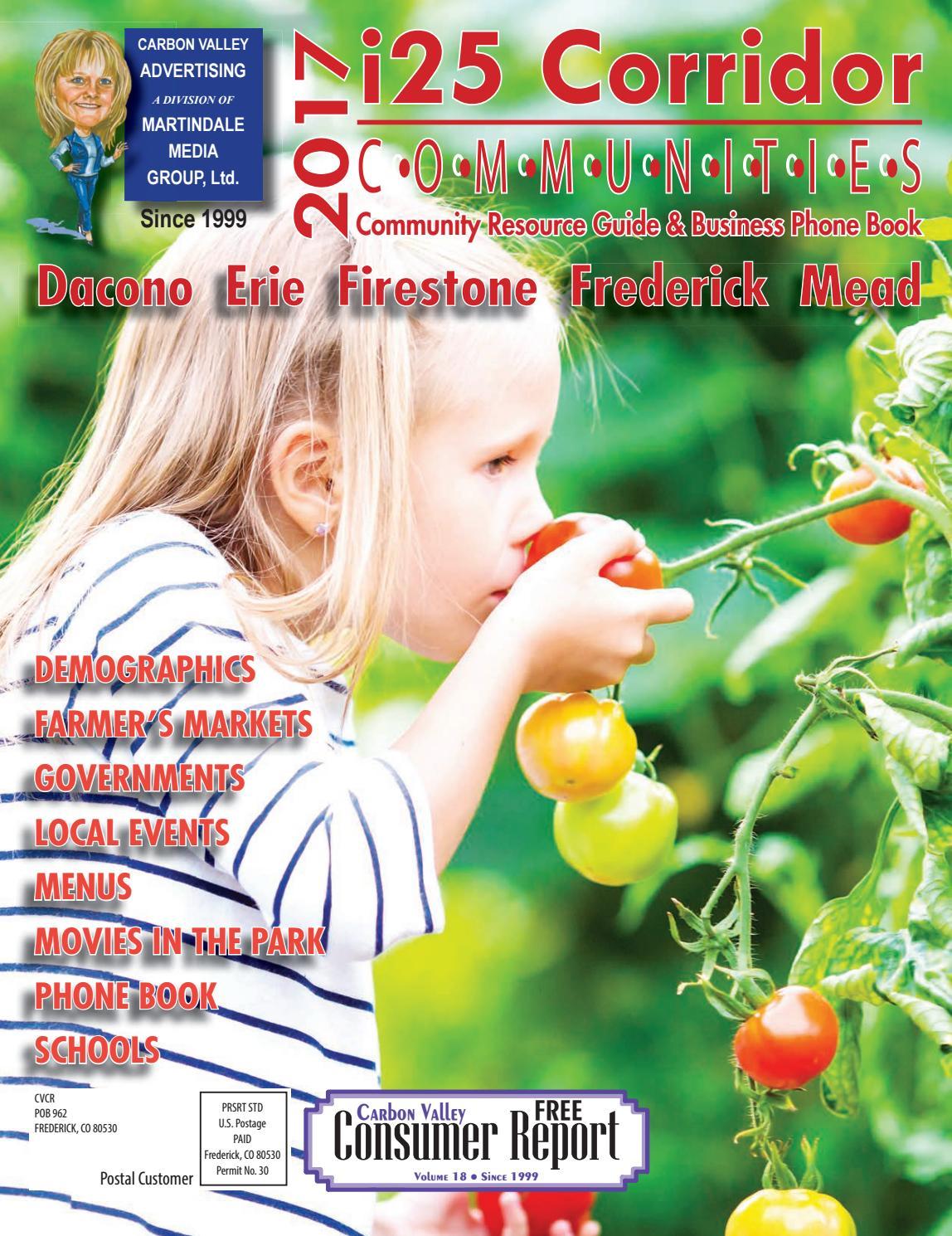 583bc33e5e i25 Corridor Communities Magazine 2017 by Carbon Valley Advertising ...