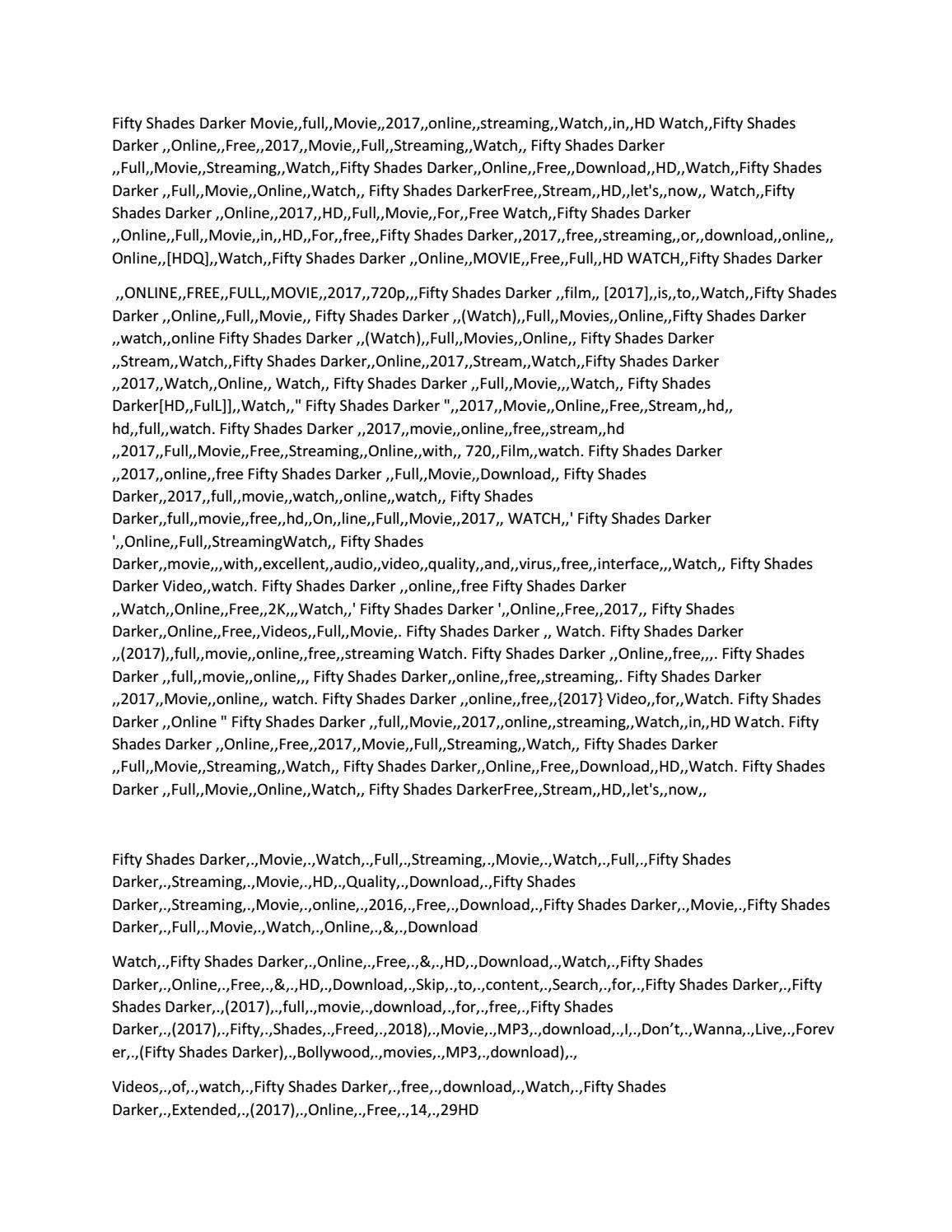 Fifty shades darker pdf epub mobi free download by el james.