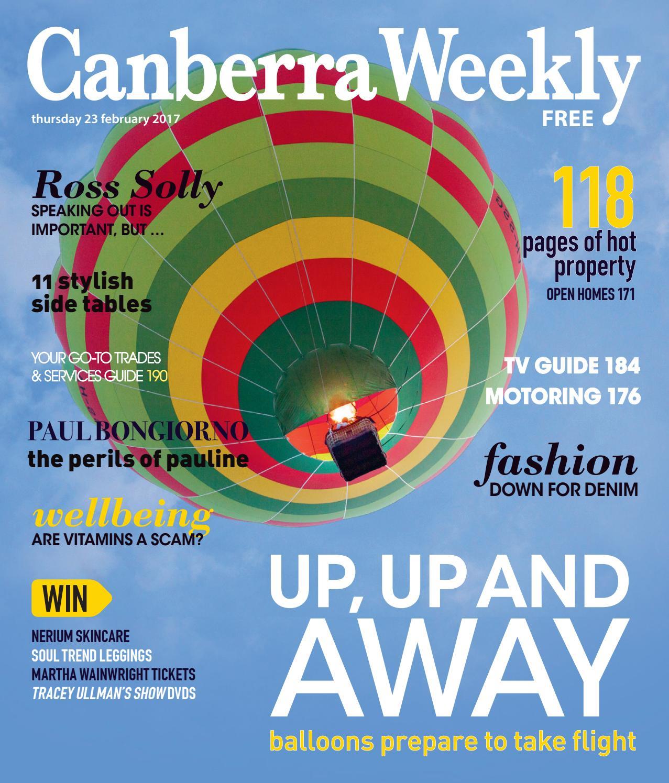 57b3d493665f 23 February 2017 by Canberra Weekly Magazine - issuu