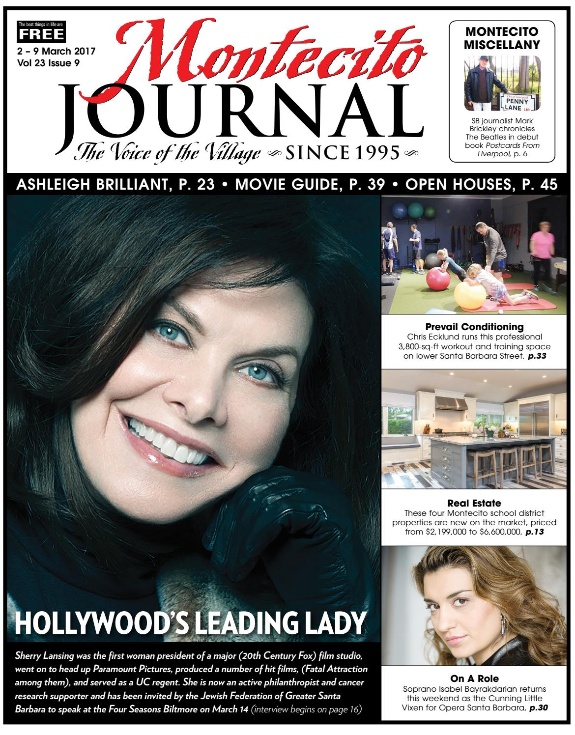 Hollywood\'s Leading Lady by Montecito Journal - issuu