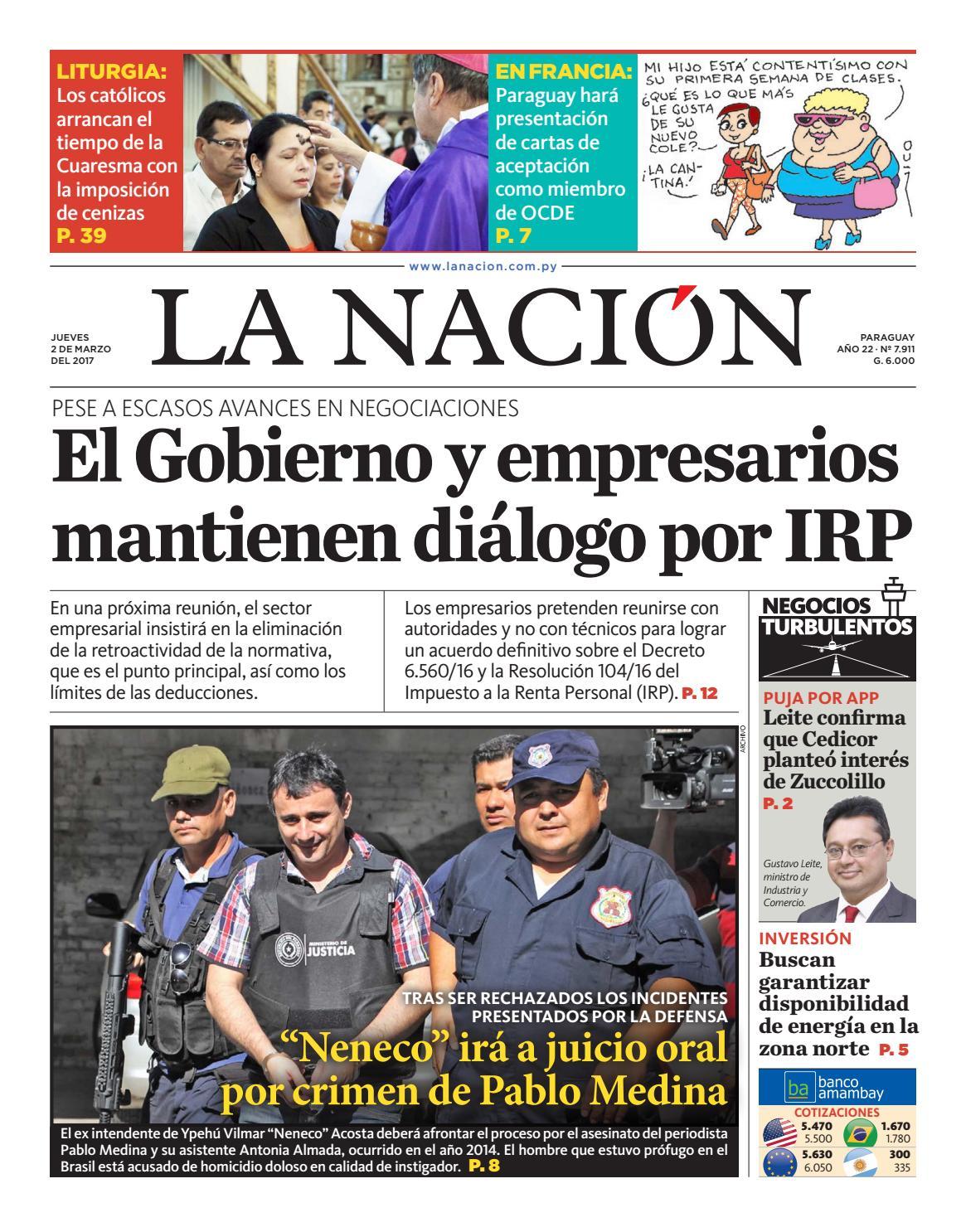 dcf28ac7bf DIARIO LA NACIÓN - EDICIÓN 7.911 by La Nación - issuu