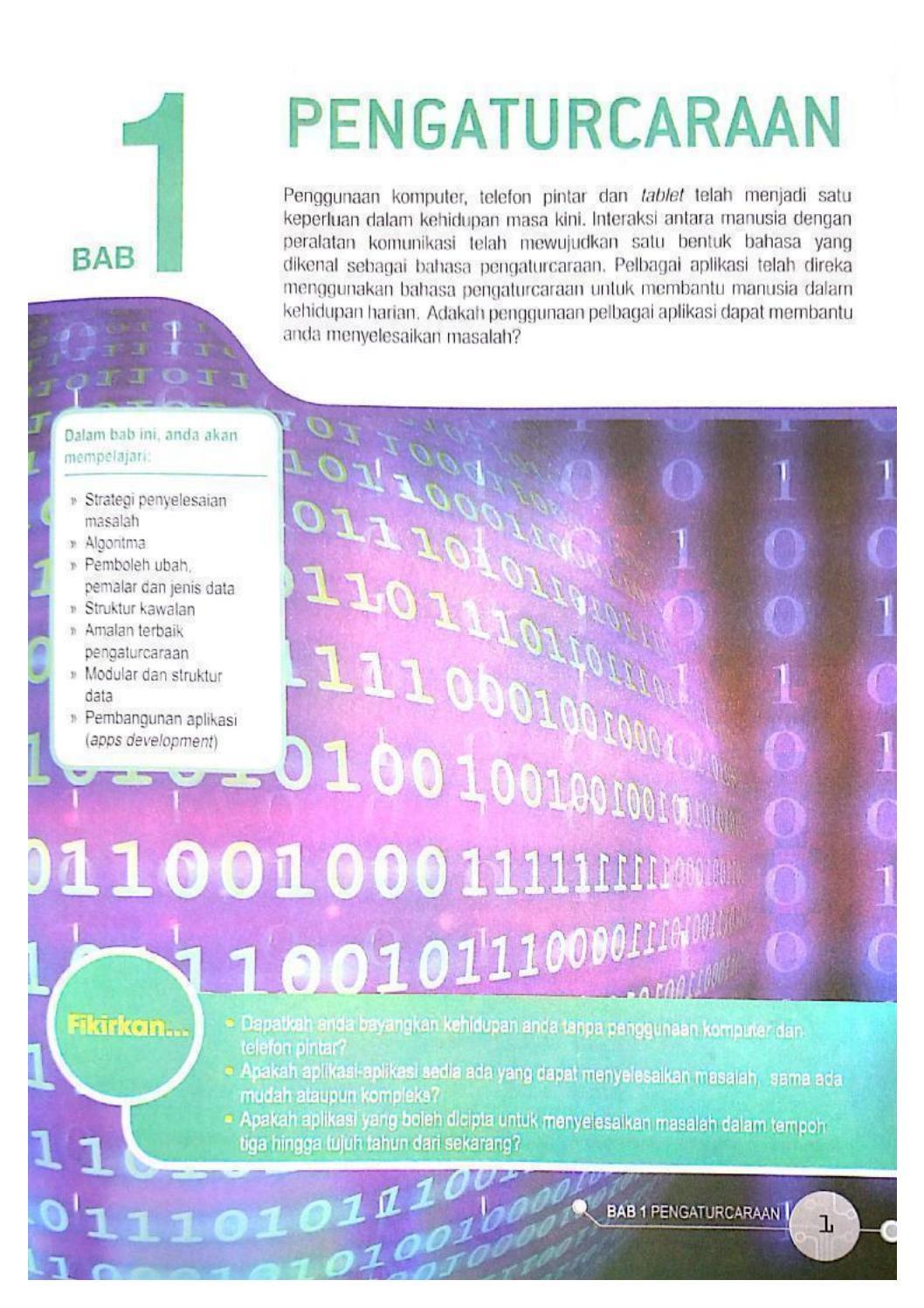 Buku Teks Sains Komputer Kssm Tingkatan 4 By Hakim Shalihim Issuu