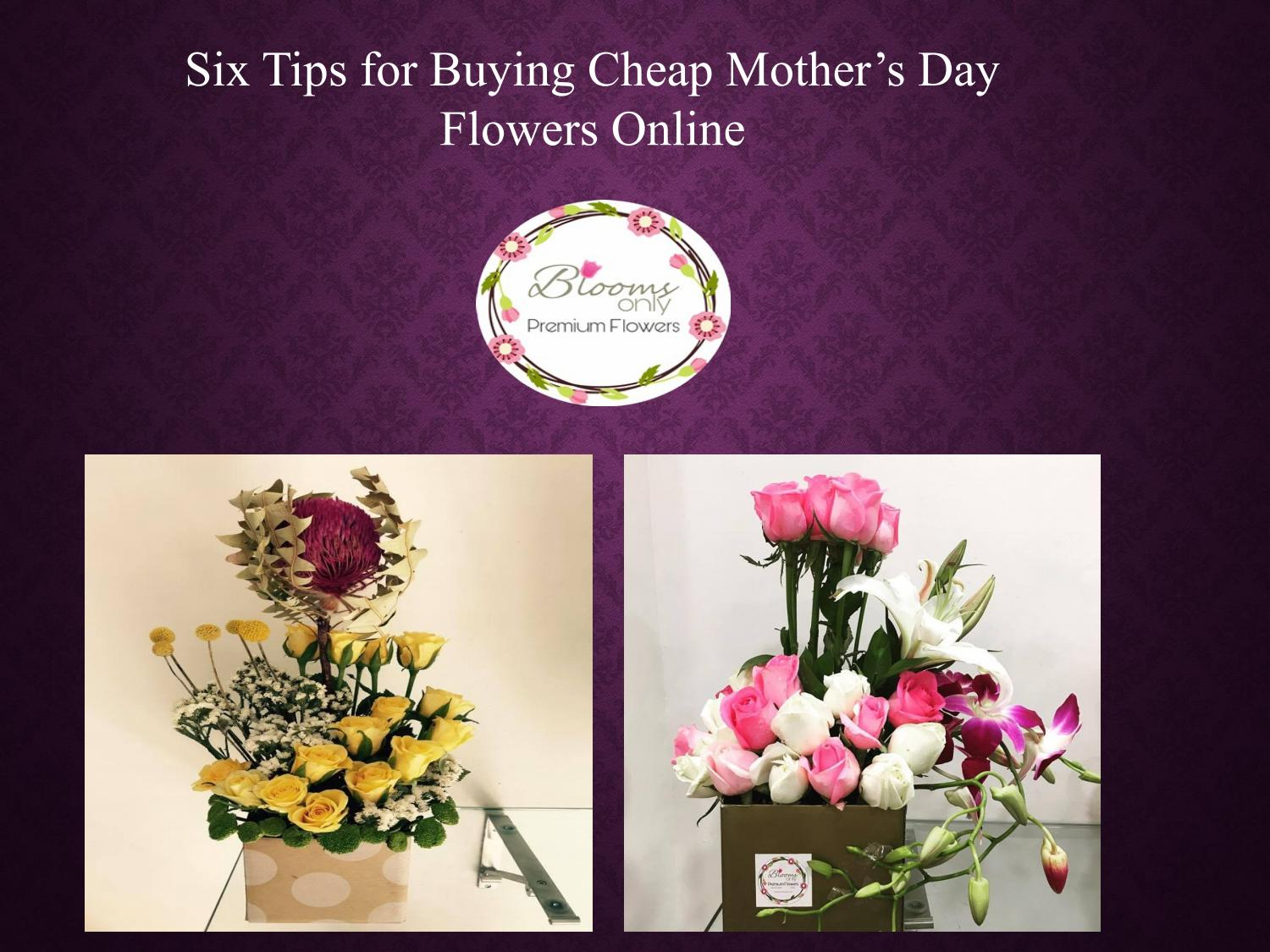 Best Mothers Day Flower Delivery In Pune Blooms Only By Blooms