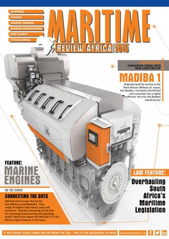 Maritime Review Africa February 2017 by More Maximum Media