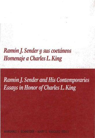 Ramón J. Sender y sus coetáneos by Diputación Provincial de Huesca ... 37b819da2eb