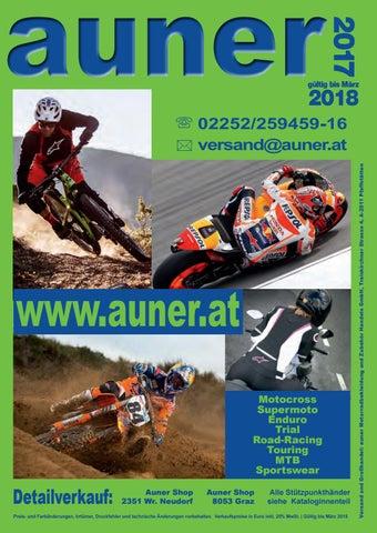 7a4360d1f70ed6 Auer Katalog 2017 by Auner Motorradbekleidungs und Zubehör Handels ...