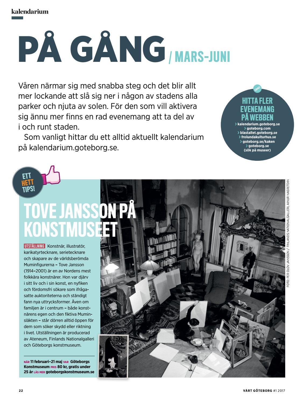 Vårt Göteborg nr 1 2017 by Göteborgs Stad - issuu 1476a706e1849