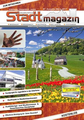 Stadtmagazin Ausgabe März 2017 By Akman Werbetechnik Issuu