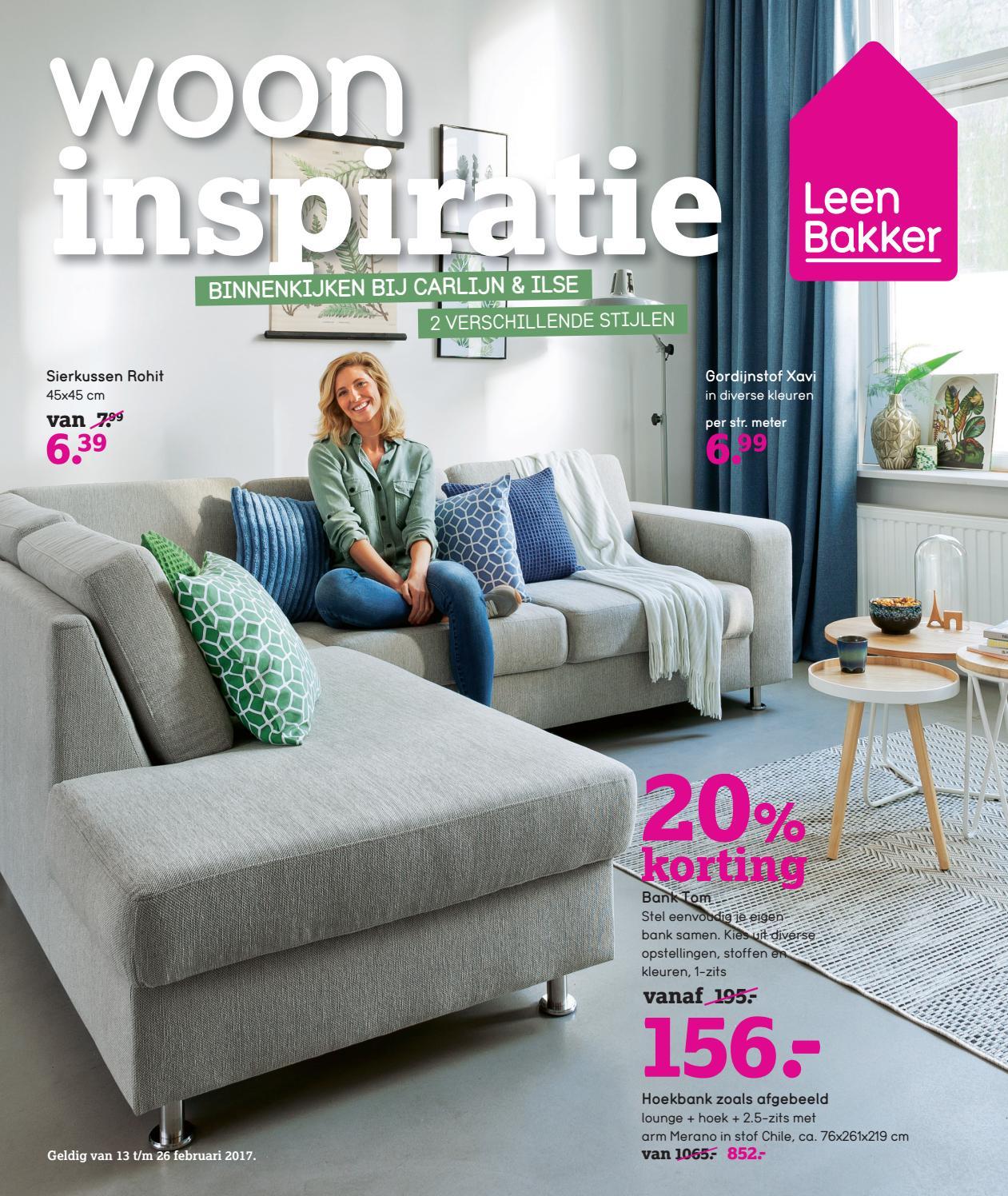 Stoffen Kast Leenbakker.Leen Bakker Nederland Nl Folder Week 07 2017 By Publisher 81 Nl Issuu