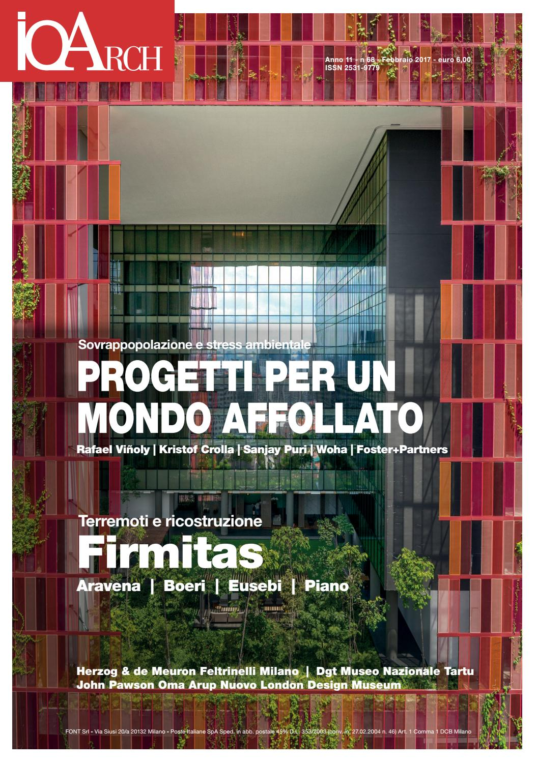 Ioarch 68 jan feb 2017 by redazione ioarch issuu