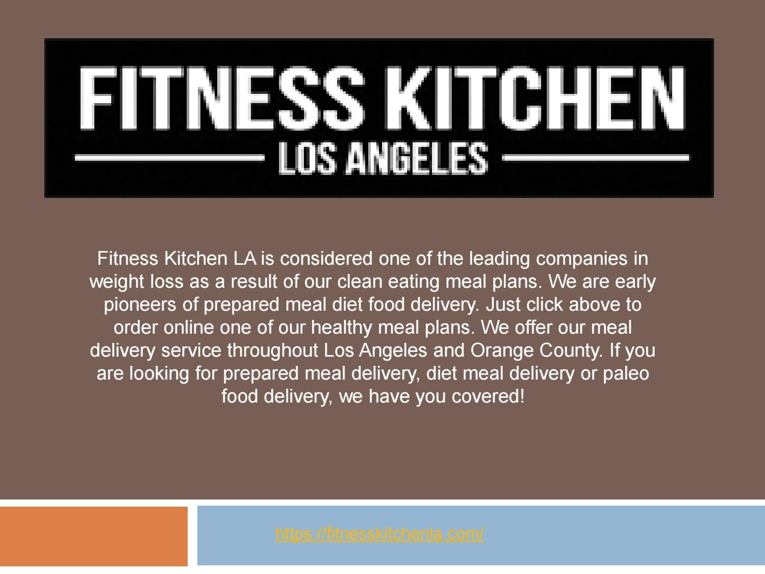 Meal Delivery Plans Pricing La San Diego By Fitness Kitchen Issuu