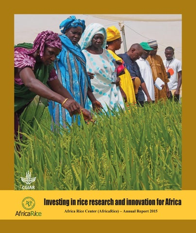 Investing in rice research and innovation for Africa by AfricaRice