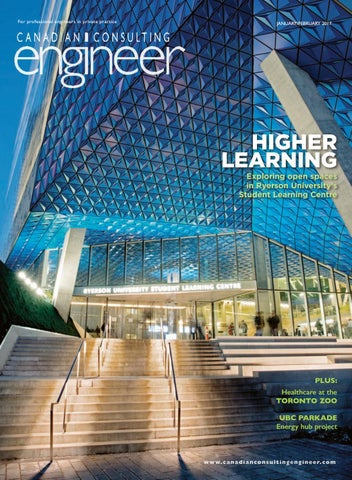 Canadian Consulting Engineer January February 2017 By Annex