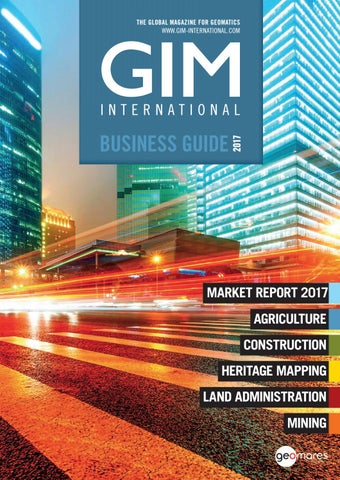 Gim international business guide 2017 by Geomares Publishing