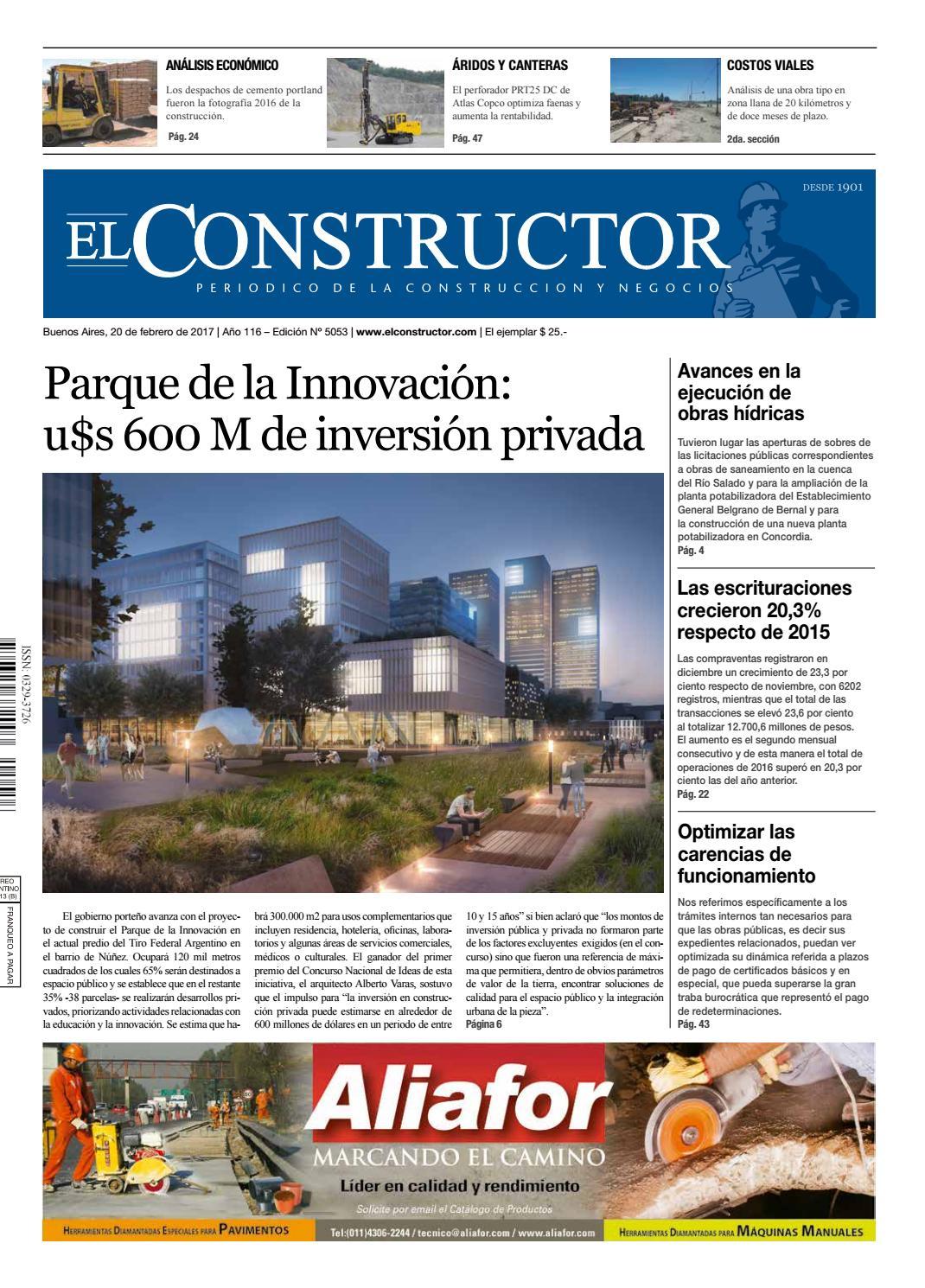 El Constructor 17 4 2017 N 5057 A O 116 By Elco Editores Issuu # Vahume Muebles De Oficina Humboldt