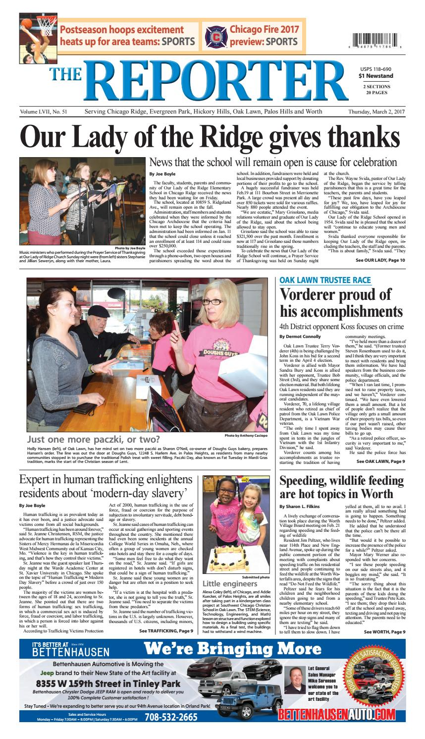 Reporter 3 2 17 by Southwest Regional Publishing - issuu