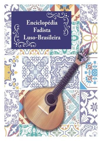 Enciclopédia Fadista Luso-Brasileira by Editora Matarazzo