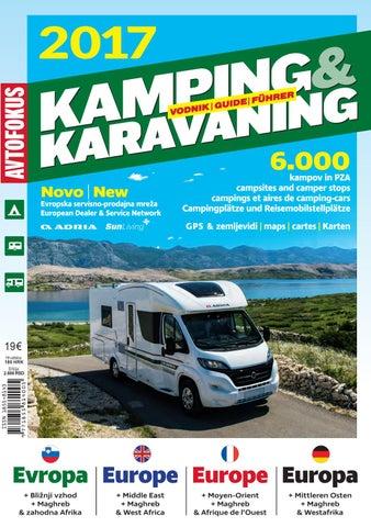 Camping Karta Europa.Camping Guide Europe 2017 Part 2 Hungary Uk Western Africa