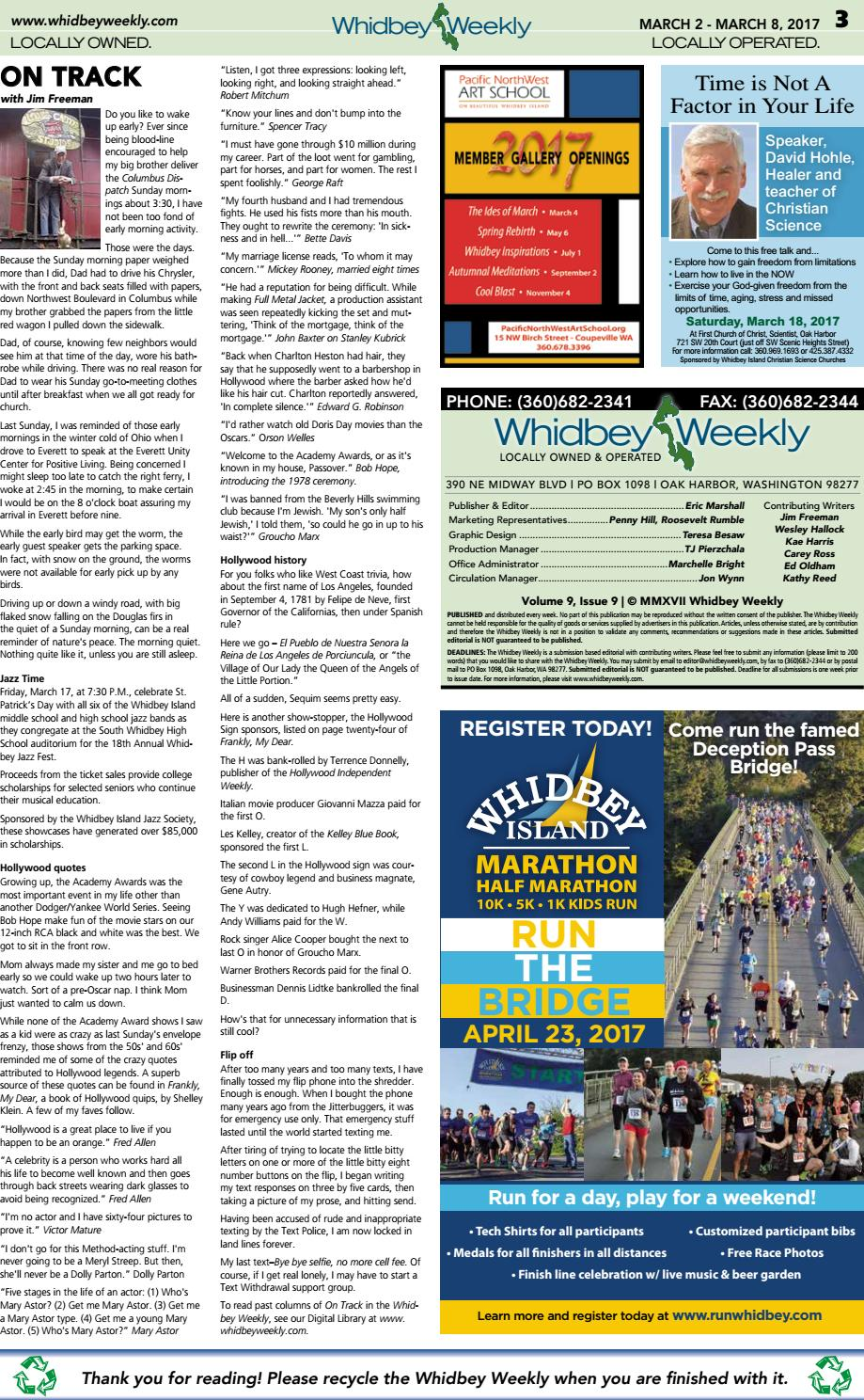 Whidbey Weekly, March 2, 2017 by WhidbeyWeekly com - issuu