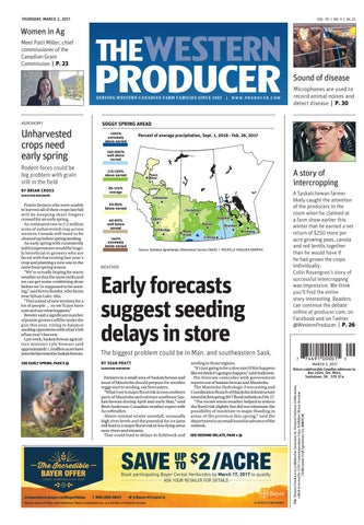 f6dbb9e3325 The western producer march 2, 2017 by The Western Producer - issuu