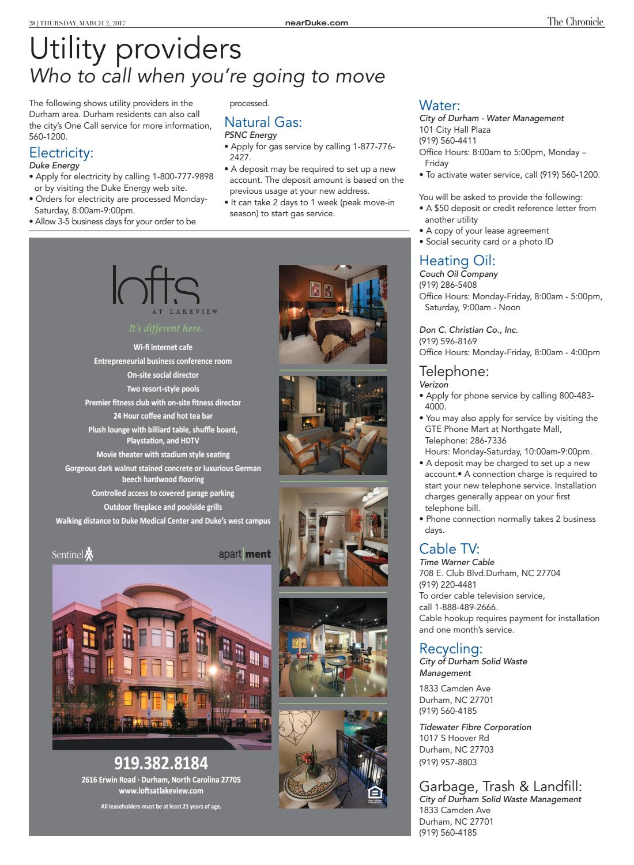 Nearduke Off Campus Housing Guide By Duke Chronicle Issuu