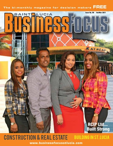 St lucia business focus 90 by ams st lucia issuu page 1 malvernweather Gallery