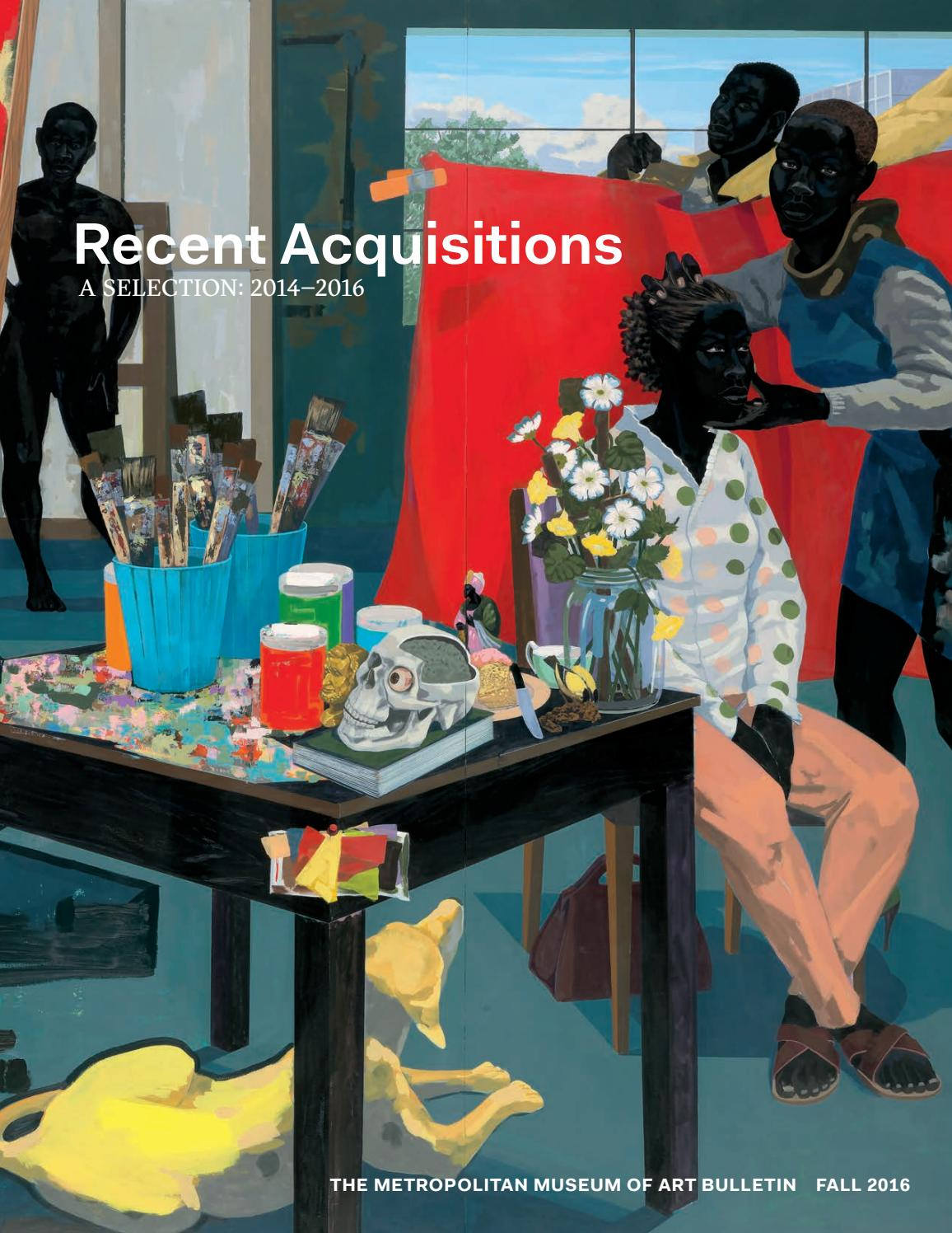 Recent Acquisitions A Selection 2014 2016 By The Metropolitan Museum Of Art Issuu