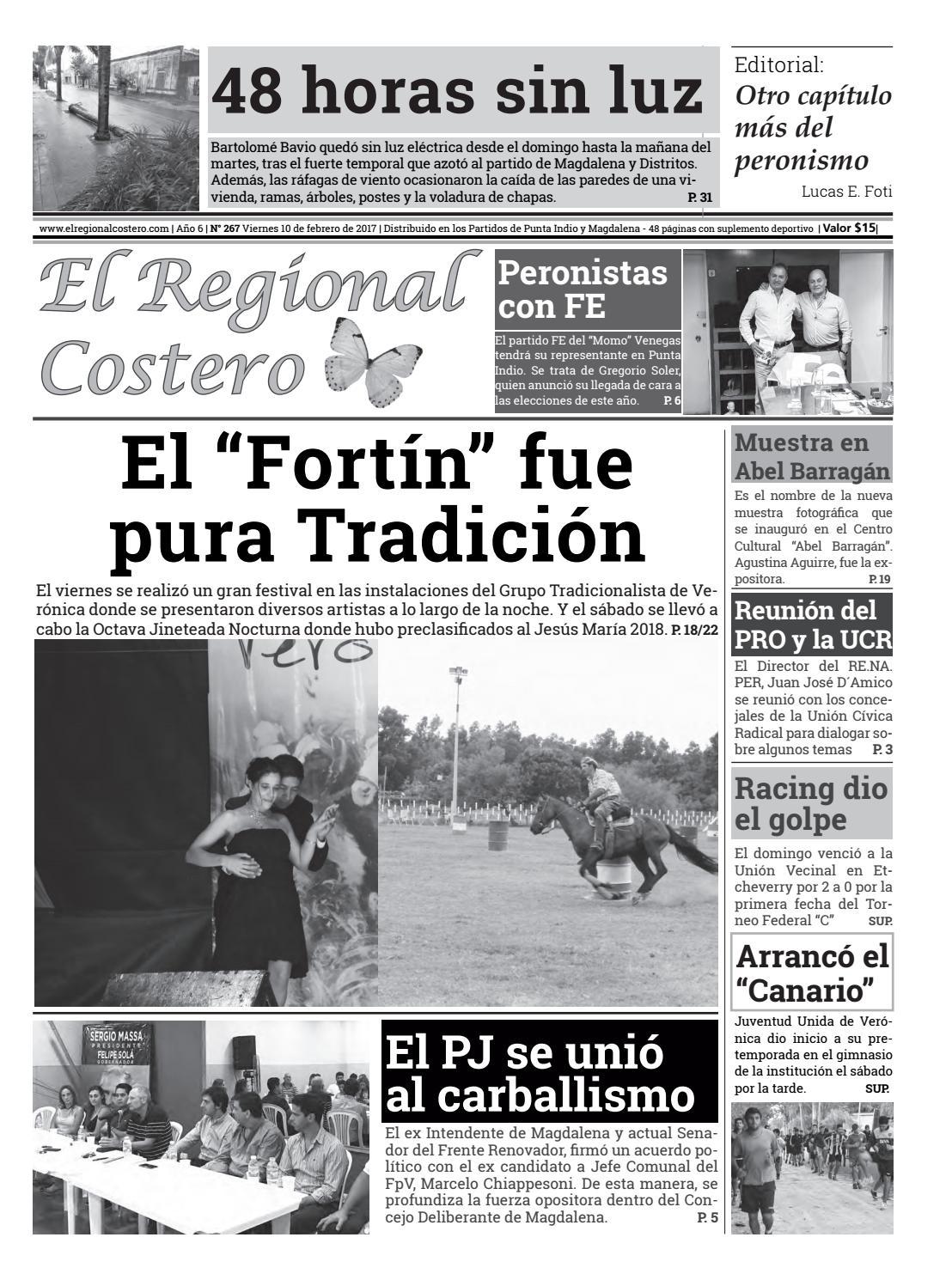 267 regional costero by Regional Costero - issuu