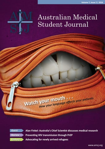 Amsj Volume 7 Issue 2 2016 By Australian Medical Student Journal