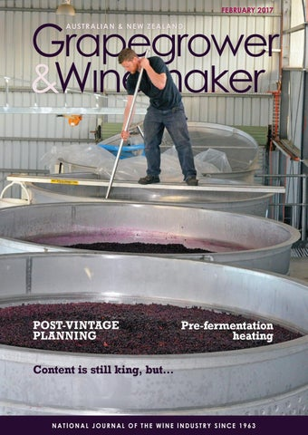 Grapegrower & Winemaker - February 2016 by provincial press group