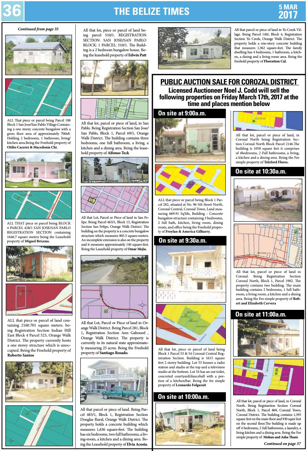 Belize Times March 5 2017 By Belize Times Press Issuu