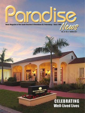 Paradise NEWS MARCH 2017 Issue By ParadiseNewsFL
