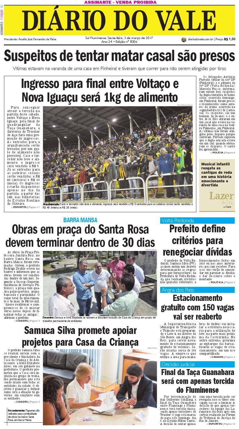 7b339a40914 8306 diario do vale sexta feira 03 03 2017 by Diário do Vale - issuu