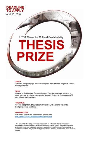 utsa thesis deadline