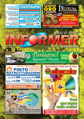 INFORMER marzo 2017 by informer issuu