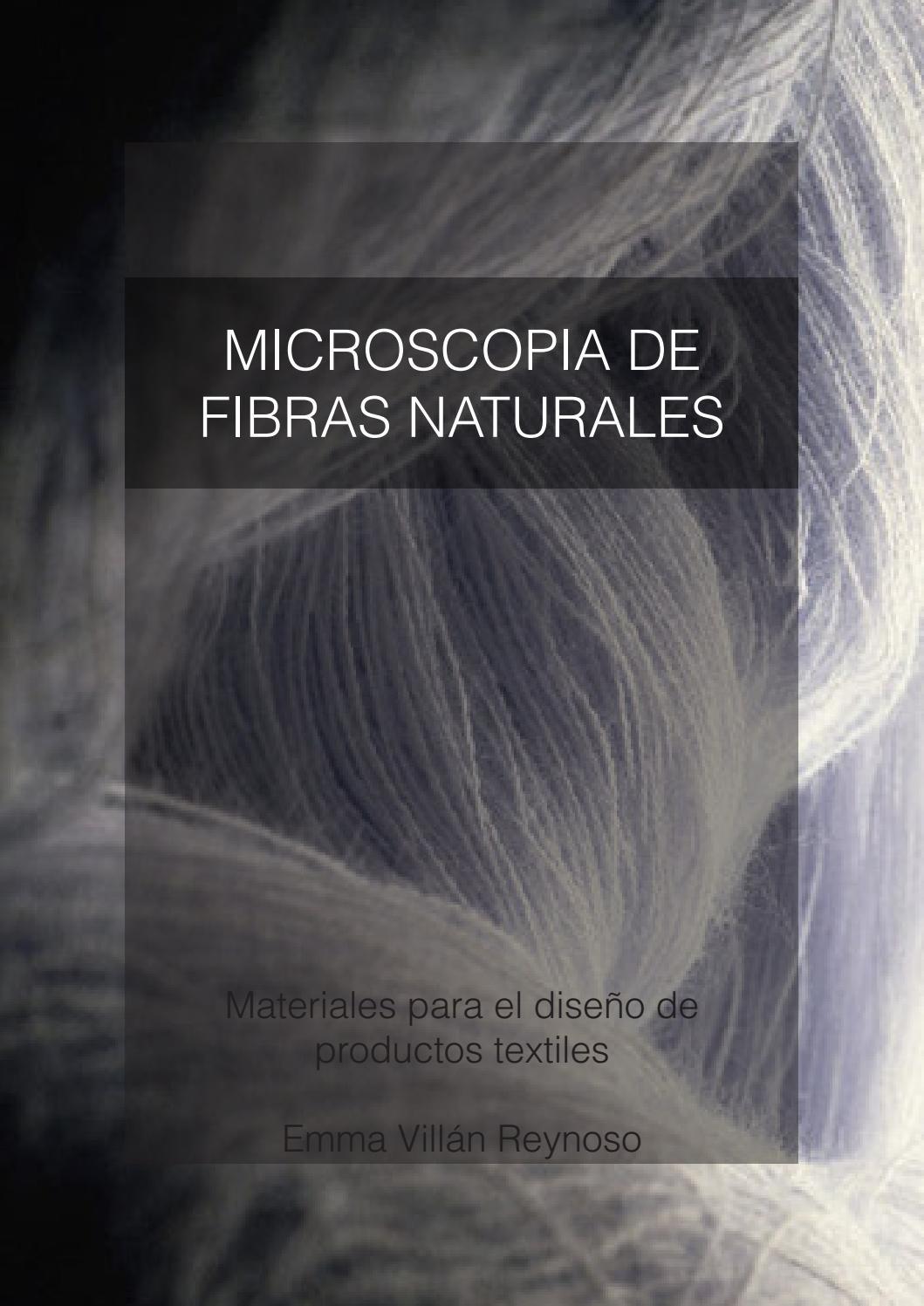 Microscopia de fibras naturales by emma vill n issuu - Informacion sobre la fibra vegetal ...