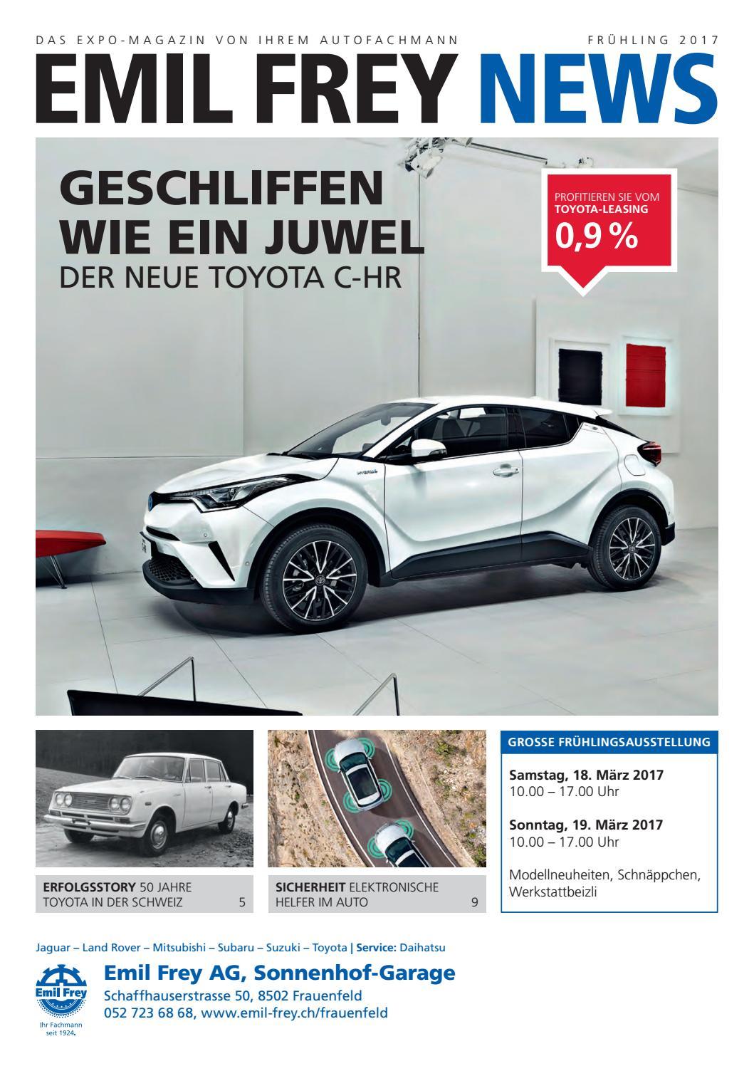 Emil Frey News Frauenfeld - Frühling 2017 by Autoglobal AG - issuu
