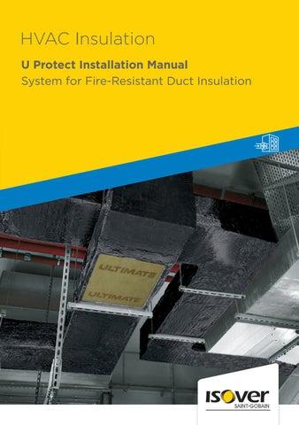 Hvac Insulation U Protect Installation Manual Isover