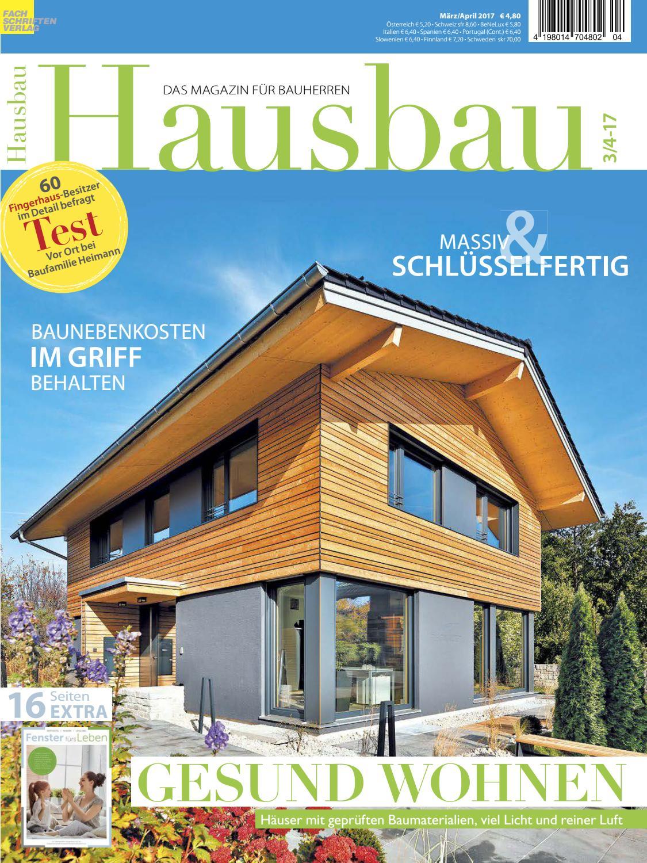 Hausbau 3/4 2017 By Fachschriften Verlag   Issuu