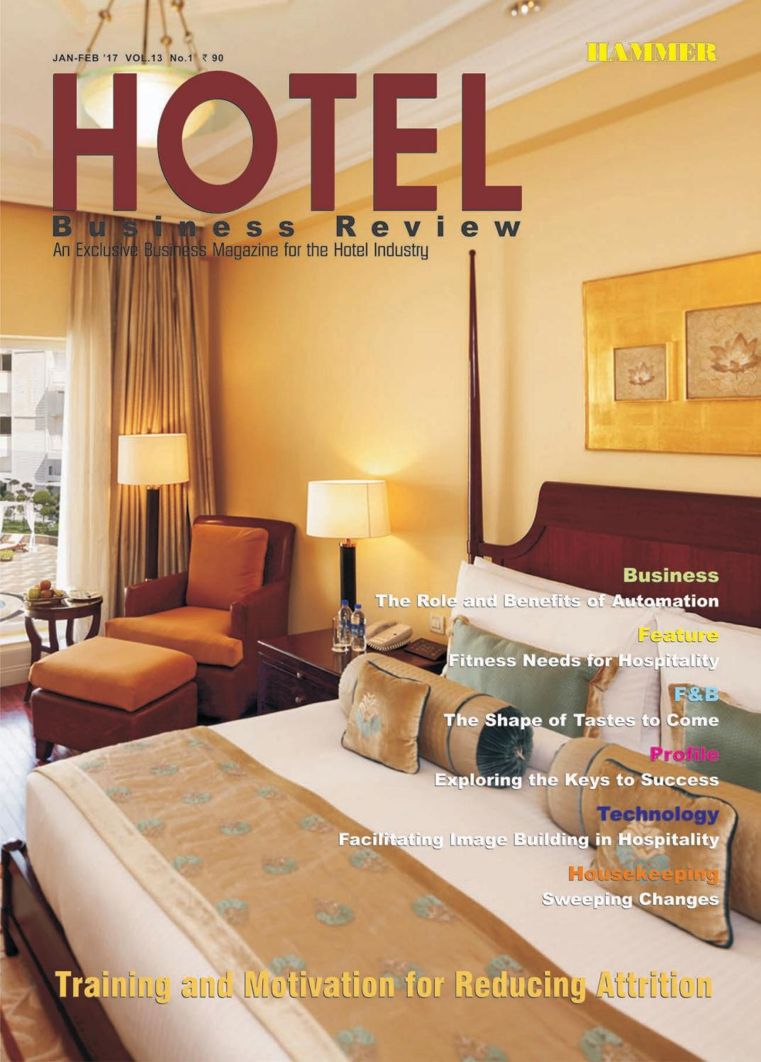hotel business review (january-february 2017)hammer publishers
