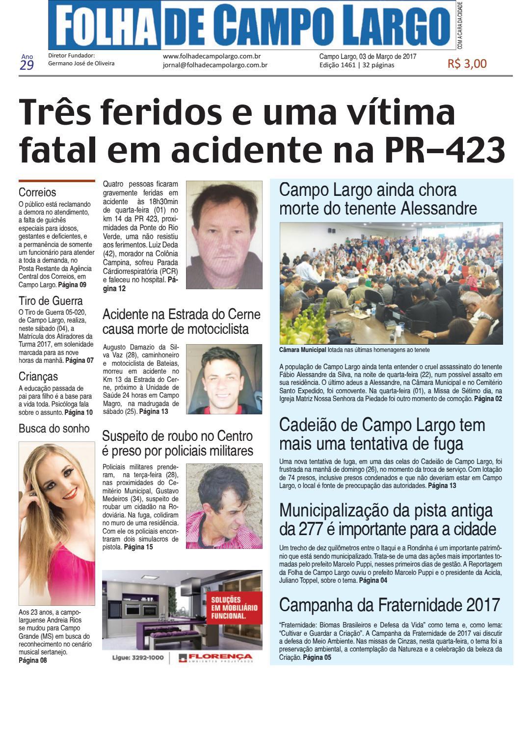 Folha de Campo Largo by Folha de Campo Largo - issuu 572e0988ff