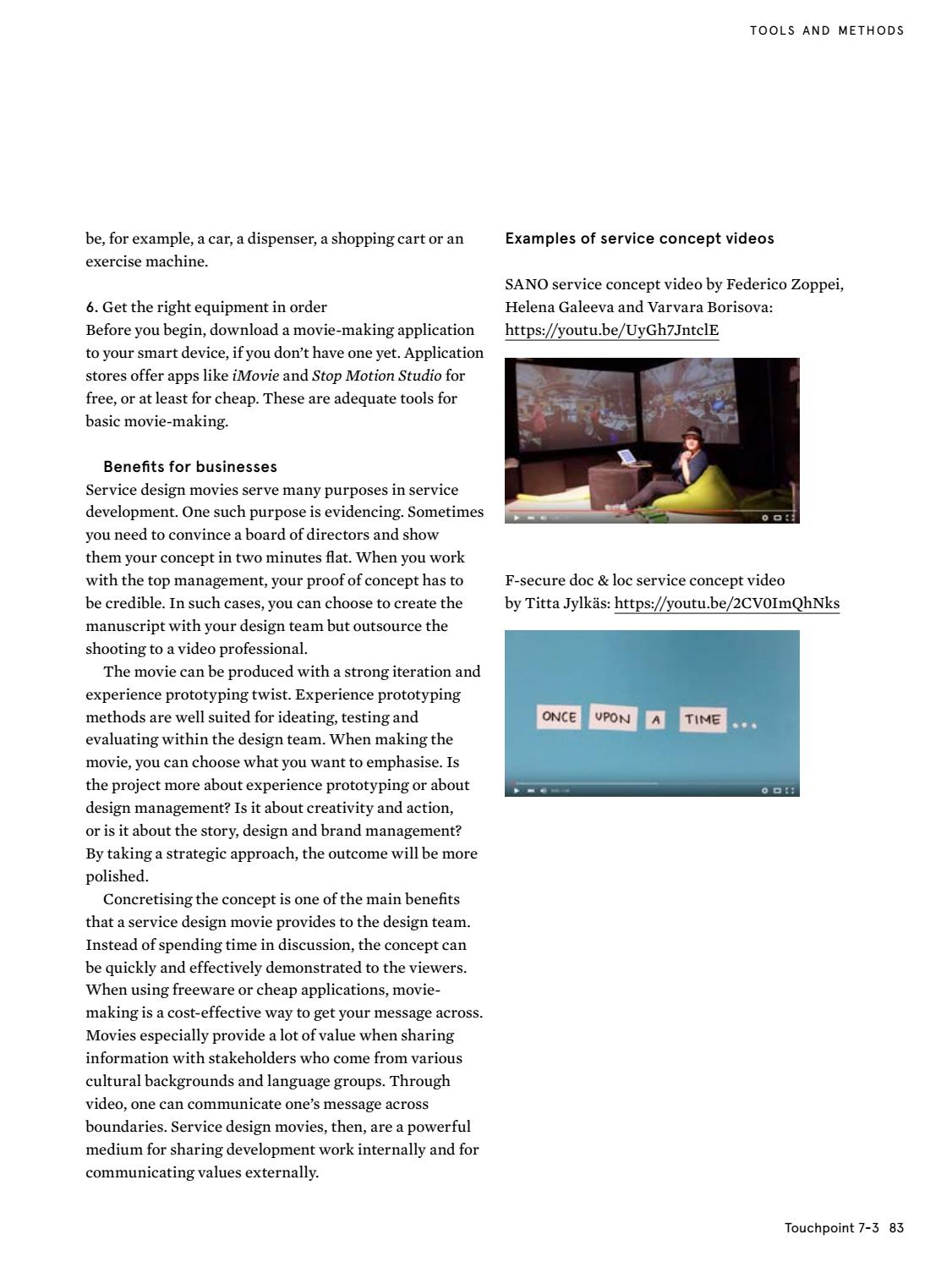 Touchpoint Vol  7 No  3 by Service Design Network - issuu