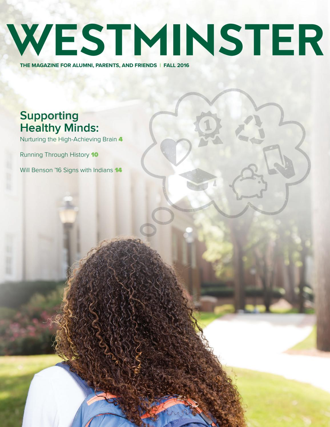 Westminster Magazine Fall 2016 by The Westminster Schools - issuu