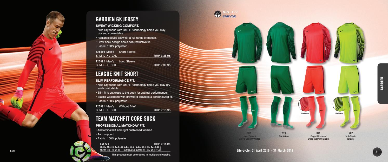 premium selection 718e7 6a933 Nike 2017 18 Teamsales Catalogue UK by Proactive Teamwear Ltd - issuu