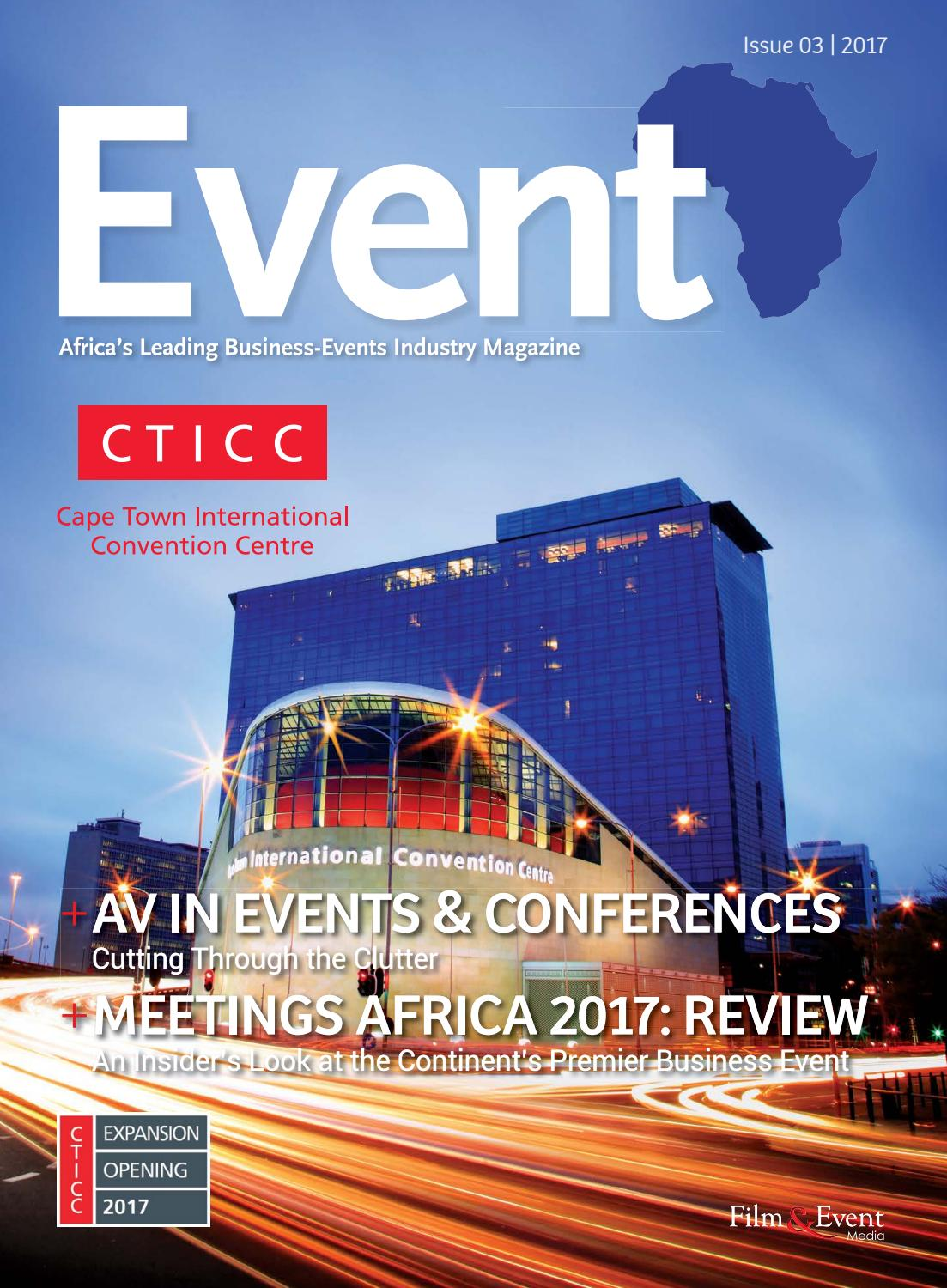 issues in the event industry Event industry and event management in terms of development, the great issues are related to competitiveness such as how to apply events more efficiently.