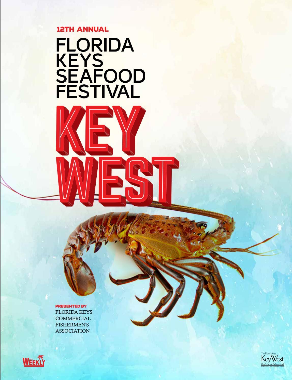 Key West Seafood Festival Guide By Keys Weekly Newspapers
